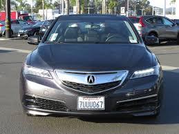 lexus service loaner pre owned 2016 acura tlx active service loaner sedan in escondido