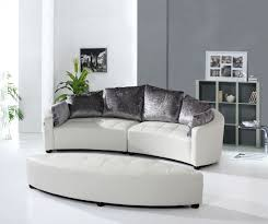 furniture curved sofas round shaped couches round couches