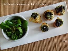 bretons en cuisine muffins aux escargots et curé nantais de bretons en cuisine