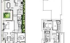 Narrow Block Floor Plans One Bedroom House Designs Of Good One Bedroom Floor Plans One