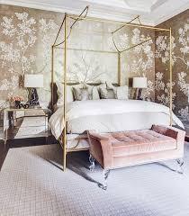 Bedroom Wallpaper Design 24 Modern Gold Wallpaper Design Ideas For Your Bedroom