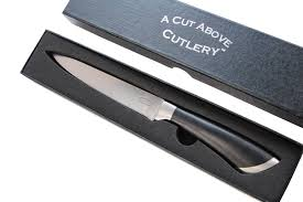 a cut above cutlery utility knife forged stainless steel construction