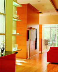 80 installation examples with positive effects for wall colors