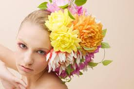 flower decoration for hair fashion friday amazing hair floral arrangements by takaya