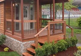 home deck design ideas what you need to know before designing deck for mobile homes