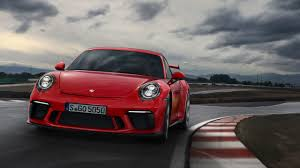 guards red porsche guards red 2018 porsche 911 gt3 shines in its birthday suit