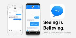 android to imessage wemessage promises to bring imessage to android uses mac as server