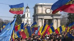 for to be 10 000 join rally calling for moldova to be unified with