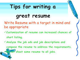 Resume Writing Tips Objective tips on resume extremely ideas tips for resume writing 3 effective