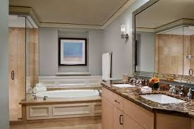 one bedroom oceanfront residential suite the ritz carlton key residence suite bathroom png