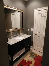 best small guest ideas half inspirations also color for bathroom