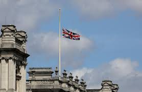 Why Is The Us Flag At Half Staff Today London Attack Union Jack Flags Across Capital And World Lowered