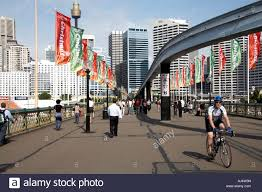 monorail darling harbour sydney wallpapers people on pyrmont bridge in darling harbour with monorail and city