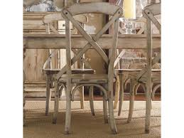 Distressed White Dining Table Hooker Furniture Wakefield X Back Distressed White Dining Side