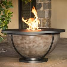 cc products bodaway bowl 48 inch round propane gas fire table