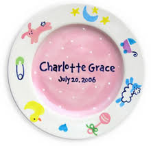 birth plates personalized birth plate ceramic birth plates at for that occasion