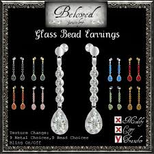 changing earrings second marketplace beloved jewelry glass bead drop