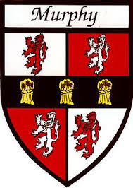 family name stickers murphy coat of arms