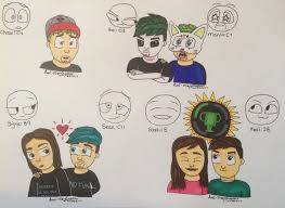 Meme Drawings - expression meme drawings 1 by luci morningstar on deviantart