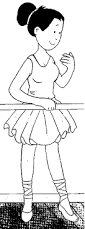 ballet coloring pages desenhos journal