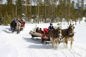 sleigh rides snow mountain ranch winter park co