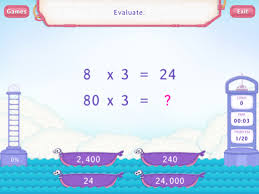 multiply by multiples of 10 worksheets third grade math