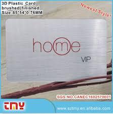 transparent plastic business cards transparent plastic business