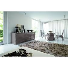 4 Chairs In Living Room by Rossetto Sapphire Glass Top Table U0026 4 Chairs In Grey Finish For