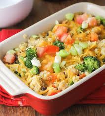 Chicken Main Dish - baked quinoa casserole with chicken and broccoli citronlimette