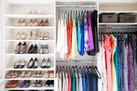 small closet organization ideas elfa walnut master closet