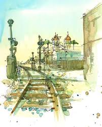 42 best my california sketches watercolor pen and ink images on