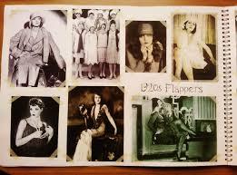 sketch book research into 1920s flapper fashion fashion in 1920s