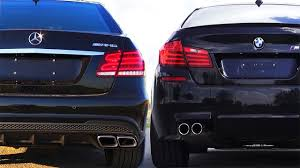 bmw vs mercedes mercedes e63 amg vs bmw m5 f10 review impressions sound onboard