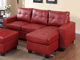 Sofa Set Leather by Sectional Sofa Set In Red Bonded Leather Match Pu