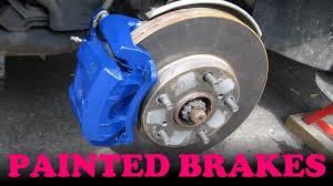 lexus yellow brake calipers how to paint your brake calipers youtube