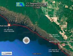 St George Island Florida Map by Paddling Trails