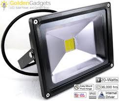 20 watt outdoor led flood light 12v dc