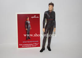 hallmark 2003 sub commander t pol ornament trek enterprise nx