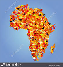 Africa Map by Illustration Of Africa Map