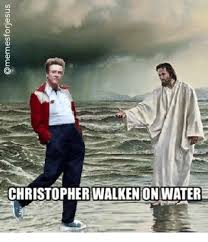 Christopher Walken Memes - christopher walken on water christopher walken meme on me me