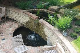 a large award nominated garden with water feature near sevenoaks