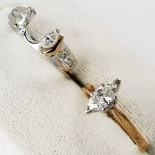 1 27 ctw vs2 14k gold marquise engagement ring wedding