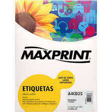 etiqueta a4 n2 cd dvd 25fls maxprint a4cd25 amazon jet