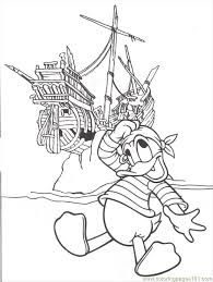 pirate coloring pages free coloring