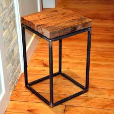 round wood and metal end table diy round end table large size of coffee wood and metal end table