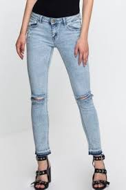 Light Colored Jeans Womens Jeans Skinny And Destroyed Jeans Tally Weijl Online Shop