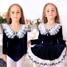 wined red navy blue pink velvet long sleeves leotards girls kids