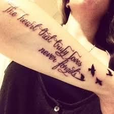 birds and forearm quote tattoos golfian com