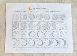 astronomy for kids moon journal free printable buggy and buddy