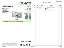 sony dsc w320 service manual page 4